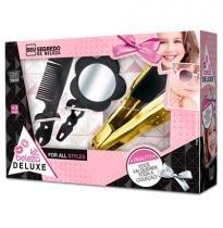 Kit Beleza Infantil Deluxe Com Chapinha + Acessorios 3 Pecas - Zuca toys