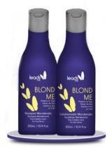 Kit Blond Me Leads Care Shampoo e Condicionador 300ml - Leads Care
