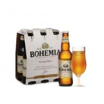 Kit Bohemia - Caixa Pilsen + Taça Pilsen - Cervejaria Bohemia