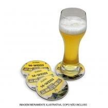 Kit Bolachas de Chopp Bohemia 14 Weiss - 4 Unidades - Cervejaria bohemia