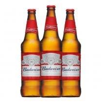 Kit Budweiser - Contém 3 Garrafas - Budweiser