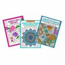 Kit C/3 Livros De Colorir - Jardim Dos Sonhos - Importado