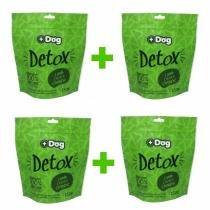 Kit c/ 4 Biscoitos Mais Dog Detox 150g -