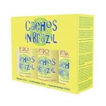 Kit Cachos in Brazil Retrô Cosméticos 300ml -