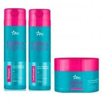 Kit Cachos Mágicos Magic Color Máscara 300g, Shampoo e Condicionador 300ml - Magic Color