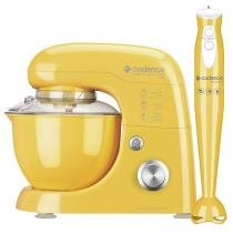 Kit Cadence Colors Amarelo - Batedeira e Mixer -