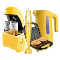 Kit Cadence Colors Amarelo Completo -