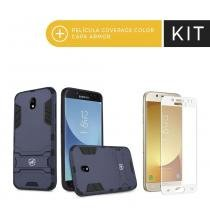Kit Capa Armor e Pelicula de vidro dupla para Samsung Galaxy A3 2016 -  Gorila Shield e928276dd3