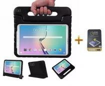 "Kit Capa Case Protetor Infantil Anti-Choque/Impacto Galaxy Tab S2 T810/815 9,7"" + Película de Vidro BD NET (Preto) - BD Net Imports"