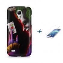 Kit Capa Case TPU Galaxy S4 Mini Coringa + Película de Vidro (BD01) - BD Net Imports