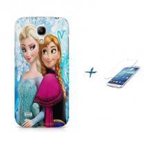 Kit Capa Case TPU Galaxy S4 Mini Frozen + Película de Vidro (BD01) - BD Net Imports