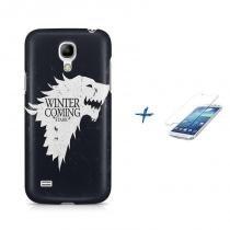 Kit Capa Case TPU Galaxy S4 Mini Game of Thrones + Película de Vidro (BD01) - BD Net Imports