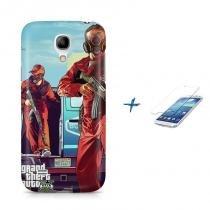 Kit Capa Case TPU Galaxy S4 Mini GTA + Película de Vidro (BD01) - BD Net Imports