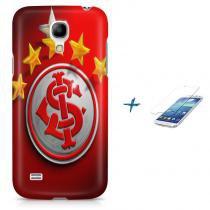 Kit Capa Case TPU Galaxy S4 Mini Internacional Time Futebol + Pel Vidro (BD01) - BD Net Imports