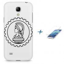 Kit Capa Case TPU Galaxy S4 Mini Simbolo Engenharia Civil Deusa Minerva + Pel Vidro (BD01) - BD Net Imports