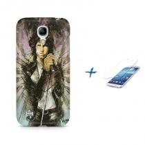 Kit Capa Case TPU Galaxy S4 Mini The Doors + Película de Vidro (BD01) - BD Net Imports