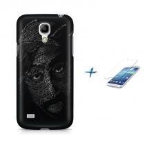 Kit Capa Case TPU Galaxy S4 Mini Tupac + Película de Vidro (BD01) - BD Net Imports