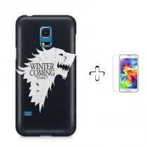 Kit Capa Case TPU Galaxy S5 Mini Game of Thrones + Película de Vidro (BD01) - BD Net Imports