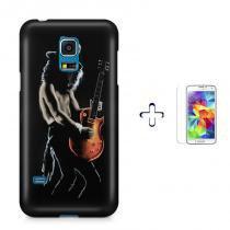 Kit Capa Case TPU Galaxy S5 Mini Slash + Película de Vidro (BD02) - BD Net Imports