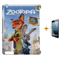 Kit Capa Case TPU iPad 2/3/4 Zootopia (BD01) - BD Net Imports