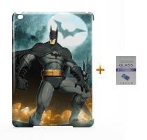 Kit Capa Case TPU iPad Air 2 (iPad 6) Batman + Película de Vidro (BD01) - Bd net imports