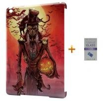 Kit Capa Case TPU iPad Air 2 (iPad 6) Hallowen + Película de Vidro (BD02) - BD Net Imports