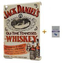Kit Capa Case TPU iPad Air 2 (iPad 6) Jack Daniels + Película de Vidro (BD01) - BD Net Imports