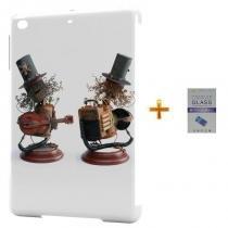Kit Capa Case TPU iPad Air 2 (iPad 6) Slash + Película de Vidro (BD03) - Skin t18