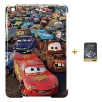 Kit Capa Case TPU iPad Mini 2/3 Carros + Película (BD01) - BD Net Imports