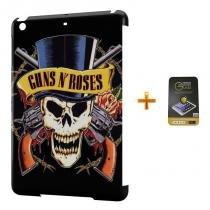 Kit Capa Case TPU iPad Mini 2/3 Guns n Roses + Película de Vidro (BD02) - Skin t18