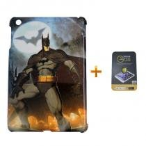 Kit Capa Case TPU iPad Mini 2/3 + Película de Vidro - Batman (BD01) - BD Net Imports