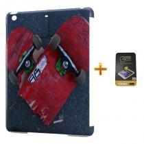 Kit Capa Case TPU iPad Mini 2/3 Skateboard + Película de Vidro (BD02) - Skin t18