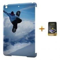 Kit Capa Case TPU iPad Mini 2/3 Snowboard + Película de Vidro (BD01) - Skin t18