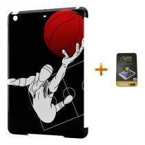 Kit Capa Case TPU iPad Mini 4 Basketball + Película de Vidro (BD01) - BD Net Imports