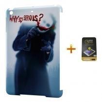 Kit Capa Case TPU iPad Mini 4 Coringa + Película de Vidro (BD02) - BD Net Imports