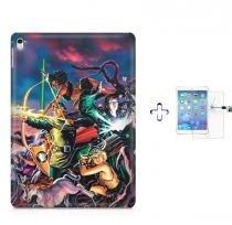 "Kit Capa Case TPU iPad Pro 9,7"" - Caverna do Dragão + Película de Vidro (BD01) - BD Net Imports"