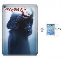 "Kit Capa Case TPU iPad Pro 9,7"" - Coringa + Película de Vidro (BD02) - BD Net Imports"