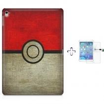 "Kit Capa Case TPU iPad Pro 9,7"" - Pokemon Pokebola (BD01) - BD Net Imports"