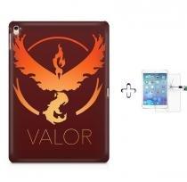 """Kit Capa Case TPU iPad Pro 9,7"""" - Pokemon Valor Team + Película de Vidro (BD01) - BD Net Imports"""