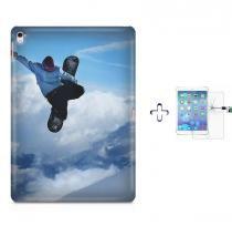 "Kit Capa Case TPU iPad Pro 9,7"" - Snowboard + Película de Vidro (BD01) - BD Net Imports"