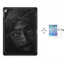 "Kit Capa Case TPU iPad Pro 9,7"" - Tupac + Película de Vidro (BD01) - BD Net Imports"