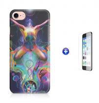 "Kit Capa Case TPU iPhone 7 - 4,7"" Transcendence + Película de Vidro (BD02) - BD Net Imports"