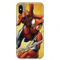 Kit Capa Case TPU iPhone X - Homem Aranha Spider-Man + Pel Vidro (BD01) - BD Net Imports