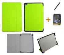 Kit Capa Smart Case para iPad Mini 4 + Película de Vidro + Caneta Touch (Verde) - BD Net Imports