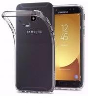 Kit capa TPU transparente + película de vidro temperado para Samsung J5 Pro - H maston