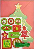 Kit Cartão Arvore de Natal KC102 - Toke e Crie Toke e Crie