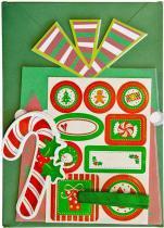 Kit Cartão Presentes de Natal KC101 - Toke e Crie Toke e Crie