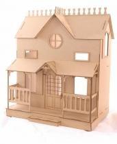 Kit Casa Boneca Barbie Moveis Lian Natural 18 Pç - Darama -