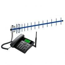Kit Celular Mesa Quadriband + Antena Externa 18DB EPK112 - Elsys -