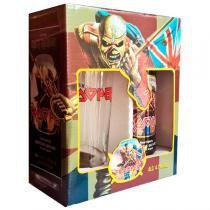 Kit Cerveja Lata Iron Maiden Trooper 500ml + Copo Exclusivo 500ml -